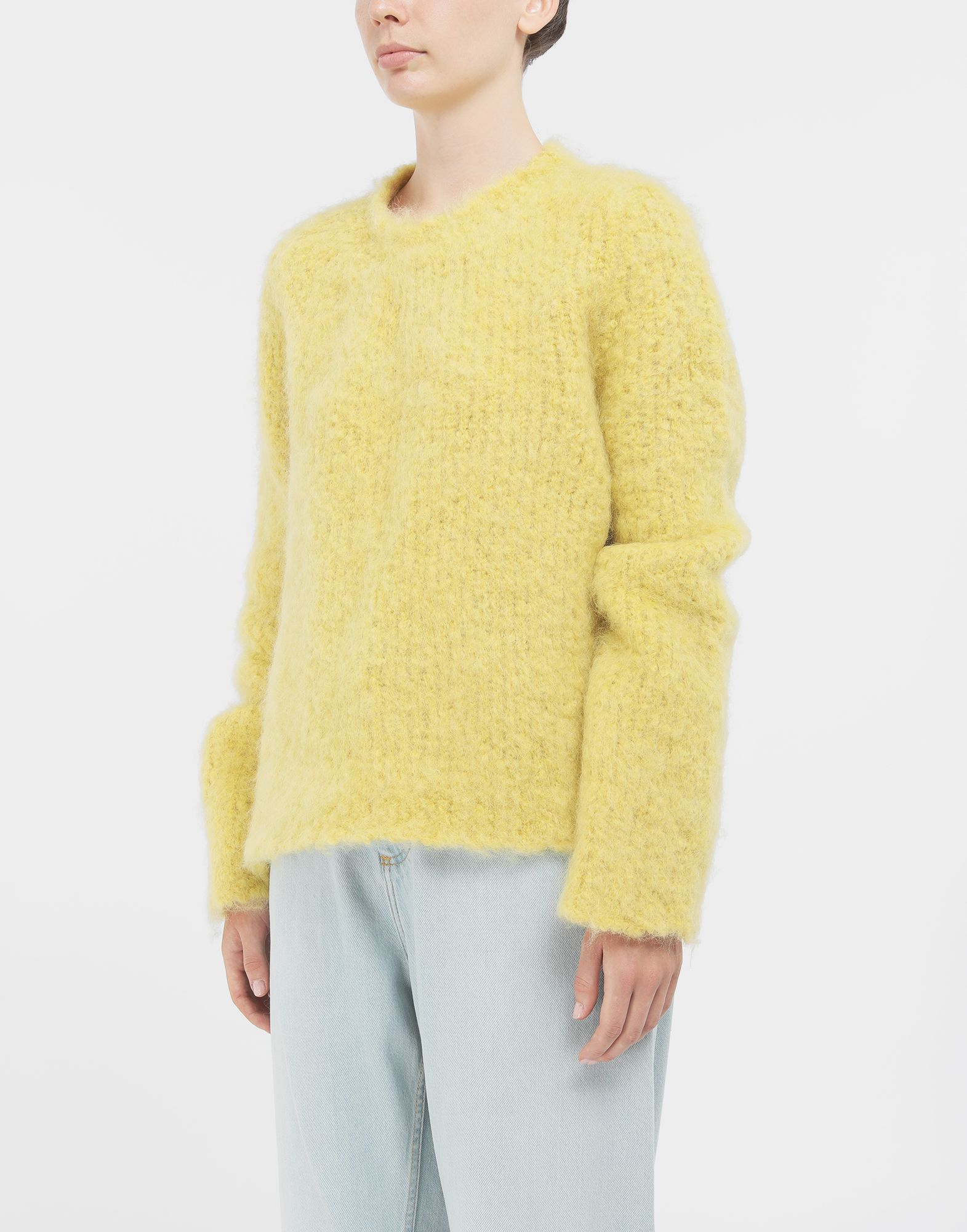 MAISON MARGIELA Mohair sweater Long sleeve jumper Woman r