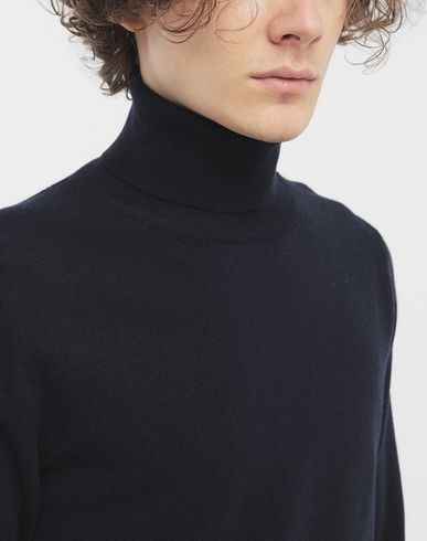 KNITWEAR High-neck pullover  Blue