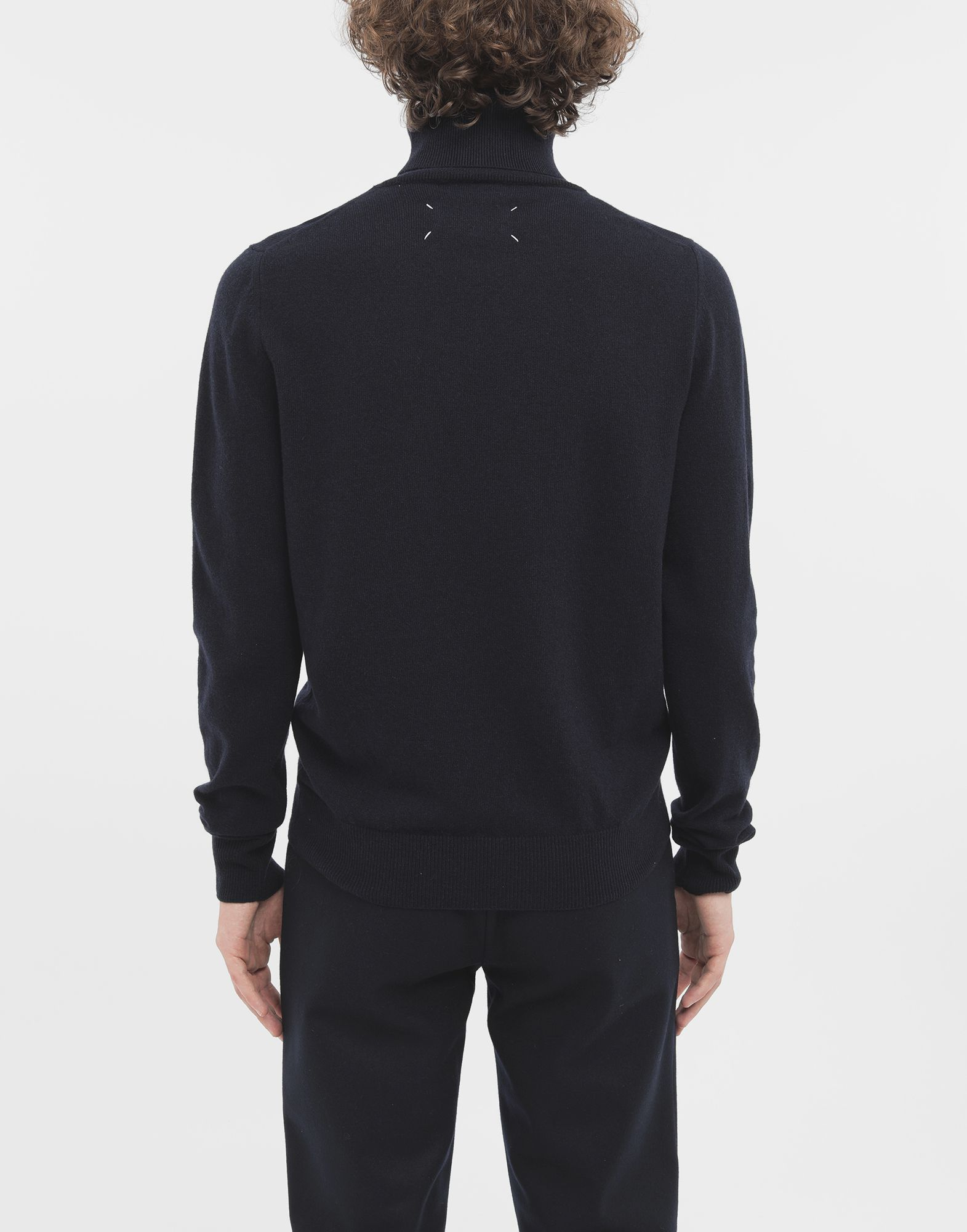 MAISON MARGIELA High-neck pullover High neck sweater Man e