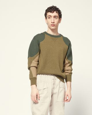 ISABEL MARANT LONG SLEEVE JUMPER Man LUDE JUMPER r