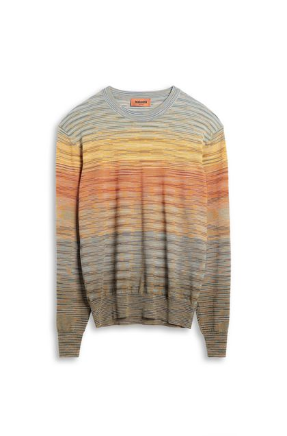 MISSONI Crew-neck Orange Man - Back