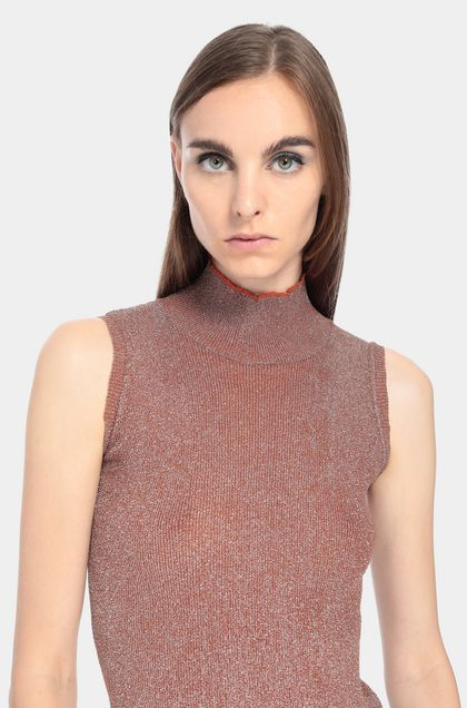MISSONI Sweater Rust Woman - Front