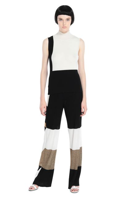 MISSONI Jumper Ivory Woman - Back