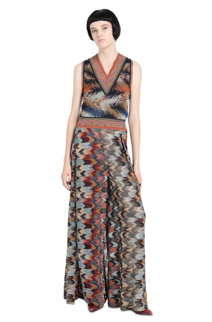 MISSONI Vest Rust Woman - Back