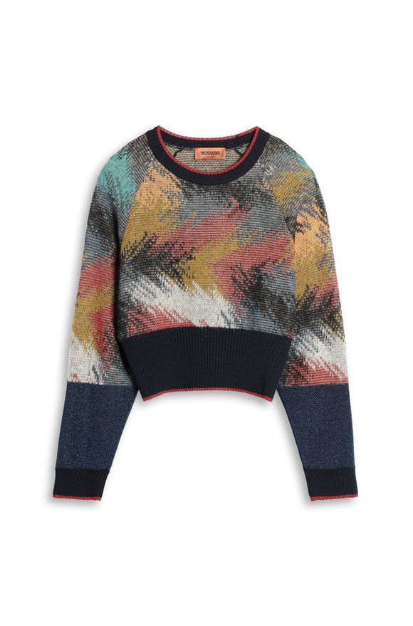 MISSONI Crew-neck Woman, Detail