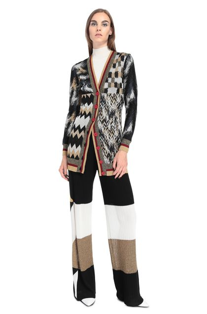MISSONI Cardigan Black Woman - Back