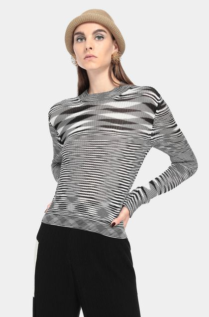 MISSONI Jumper Black Woman - Front