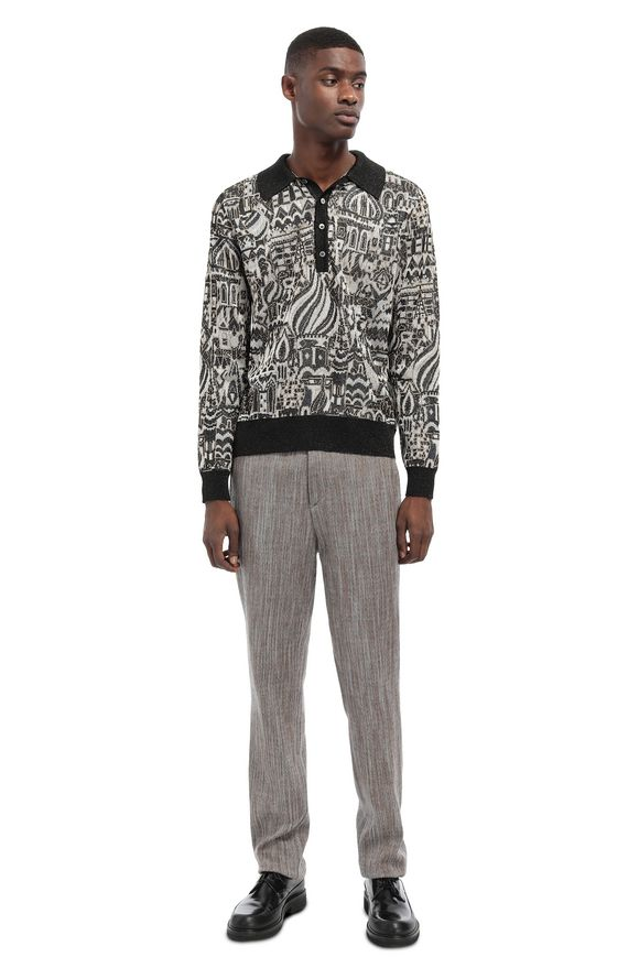 MISSONI Sweater Dark brown Man
