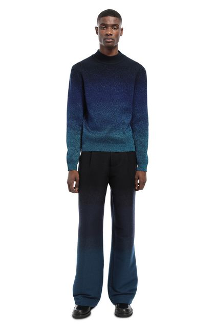 MISSONI Crew-neck Bright blue Man - Front