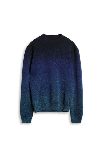 MISSONI Crew-neck Bright blue Man - Back