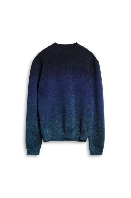 MISSONI Топ с круглым вырезом Ярко-синий Для Мужчин - Обратная сторона