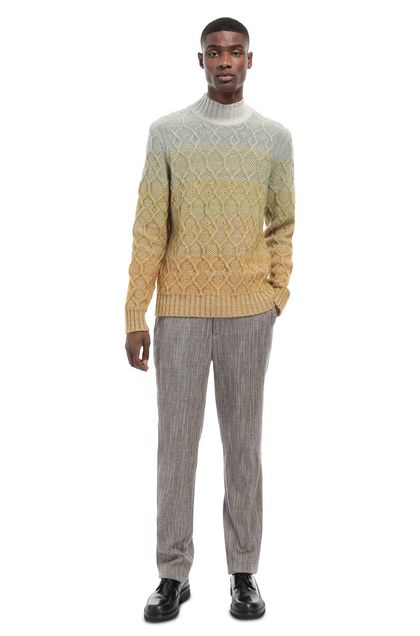 MISSONI Sweater Light grey Man - Front
