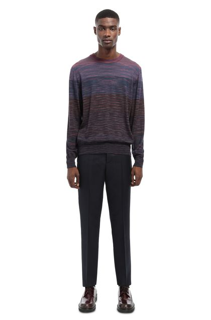 MISSONI Sweater Light purple Man - Front