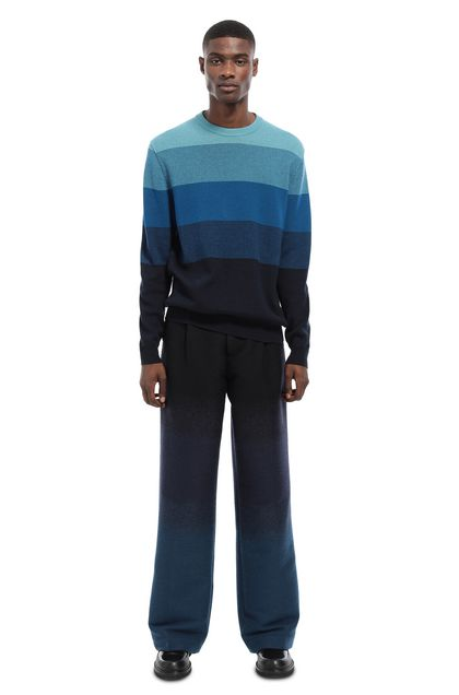 MISSONI Sweater Blue Man - Front