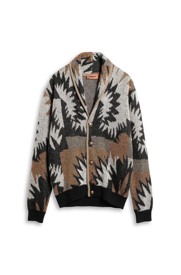 MISSONI Cardigan Black Man