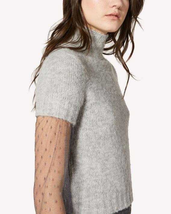 REDValentino Alpaca knit top