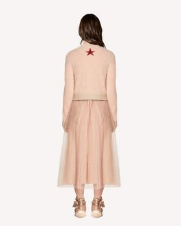 "REDValentino ""Red Ladies"" intarsia angora jumper"