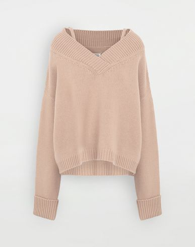 SWEATERS Multi-wear sweater Camel