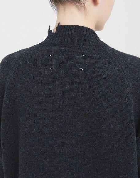MAISON MARGIELA Destroyed wool cardigan Cardigan Woman b