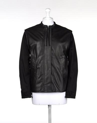 MM6 by MAISON MARGIELA Leather Jacket D f