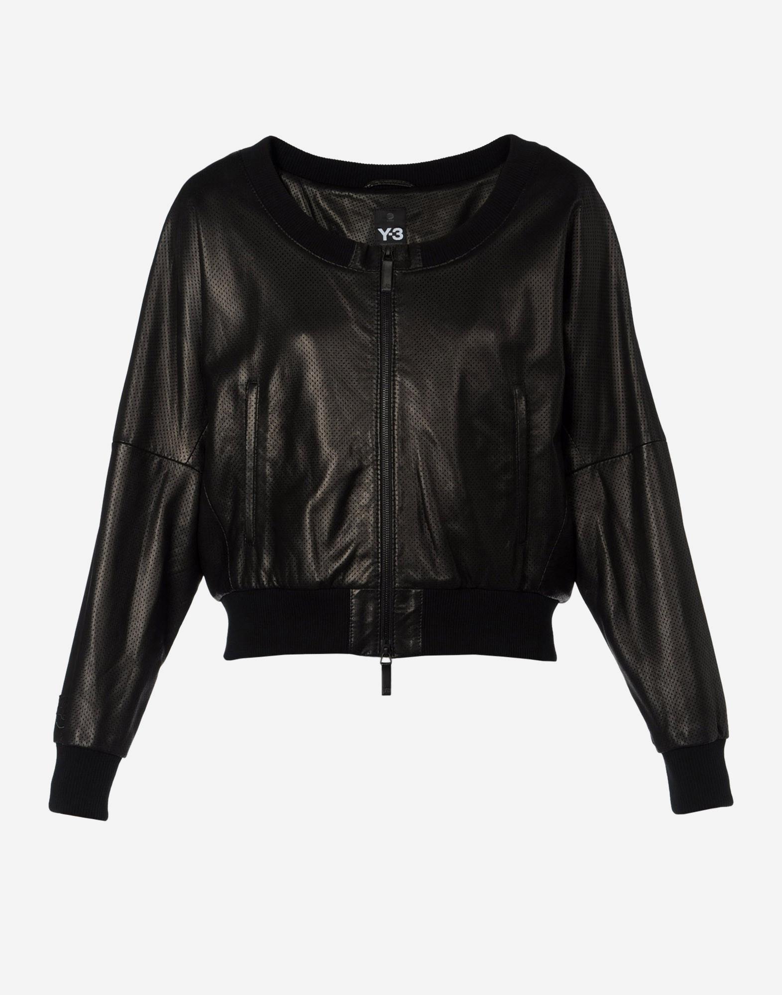 Vestes Y Leather 3 Cuir Adidas Jacket Zip Site En qww4xIr5
