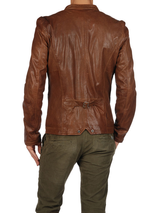 DIESEL LOSHEKA Leather jackets U r
