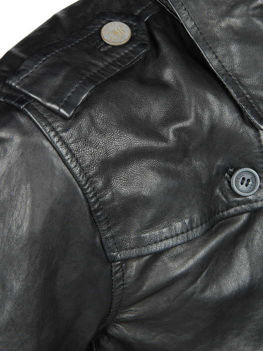 DIESEL LAHAR Leather jackets U d