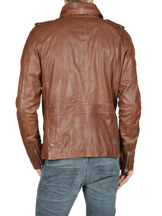 DIESEL LAHAR Leather jackets U r