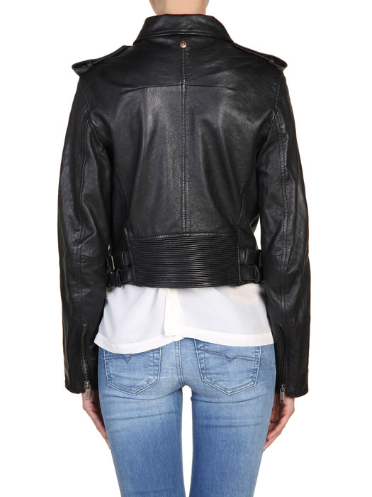 DIESEL L-MARLENE Leather jackets D r