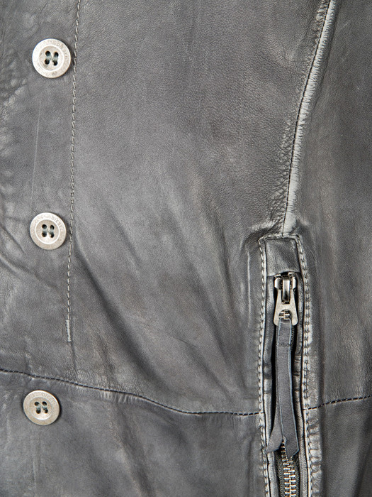 DIESEL LOFN Leather jackets U d