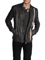 DIESEL LOMAMI Leather jackets U f