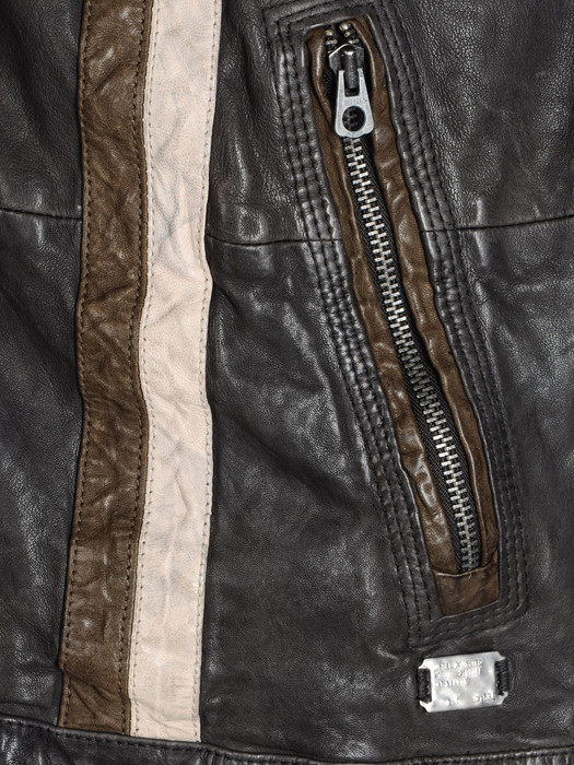 DIESEL LOMAMI Leather jackets U d