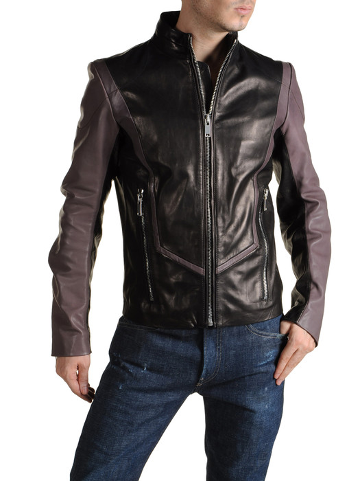 DIESEL BLACK GOLD LORDBAIRON Leather jackets U e