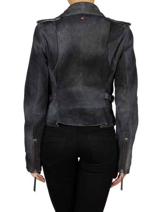 DIESEL L-PREMISE Leather jackets D r