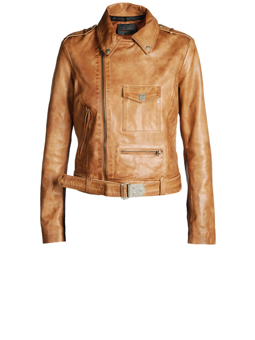 DIESEL BLACK GOLD LAVAN Leather jackets D f