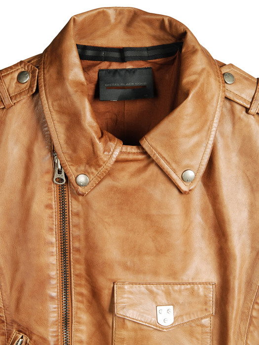 DIESEL BLACK GOLD LAVAN Leather jackets D d