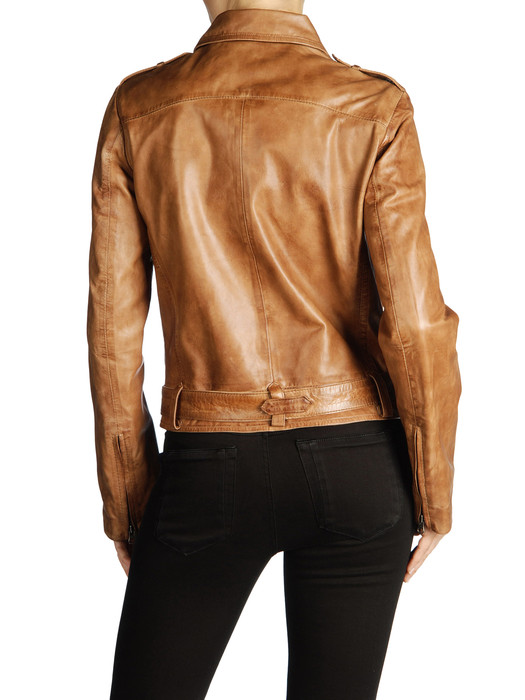 DIESEL BLACK GOLD LAVAN Leather jackets D r