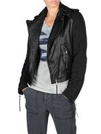 DIESEL G-SIENNA Leather jackets D f