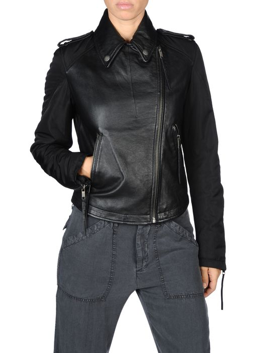 DIESEL G-SIENNA Leather jackets D e