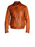 DIESEL BLACK GOLD LEVONY Leather jackets U f