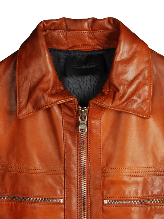 DIESEL BLACK GOLD LEVONY Leather jackets U d