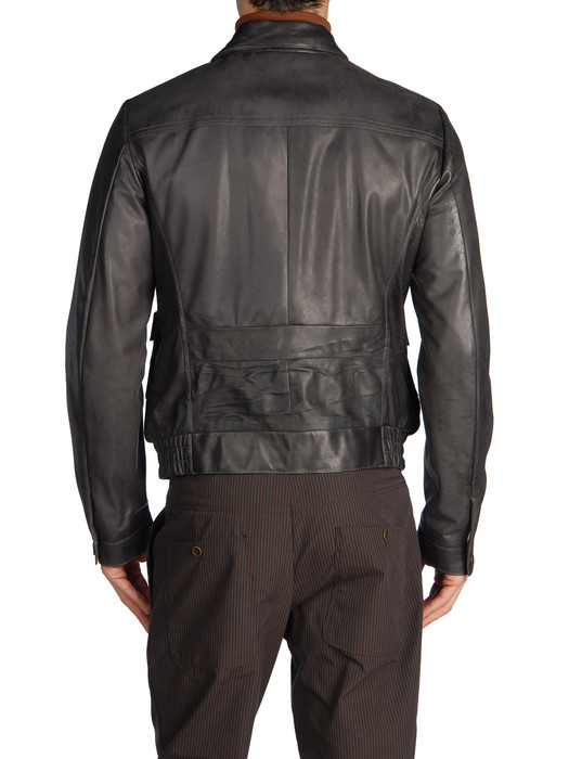 DIESEL BLACK GOLD LEVONY Leather jackets U r