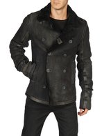 DIESEL LAGUA Leather jackets U f