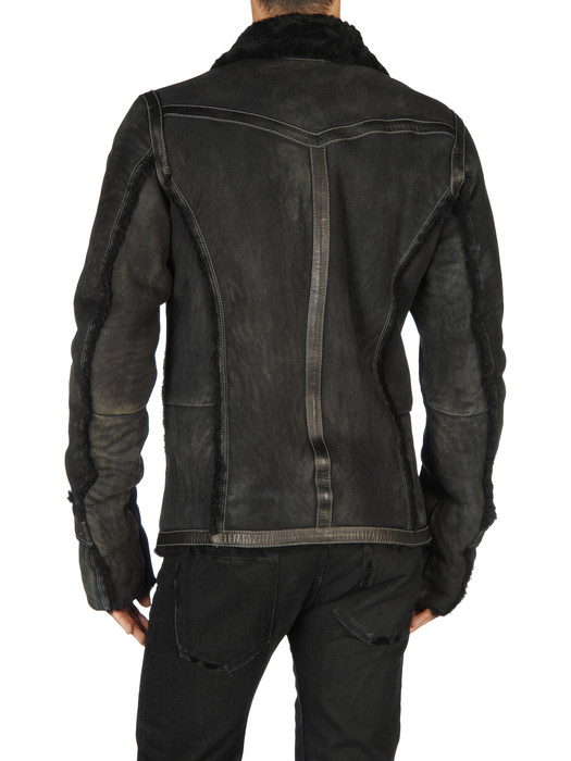 DIESEL LAGUA Leather jackets U r