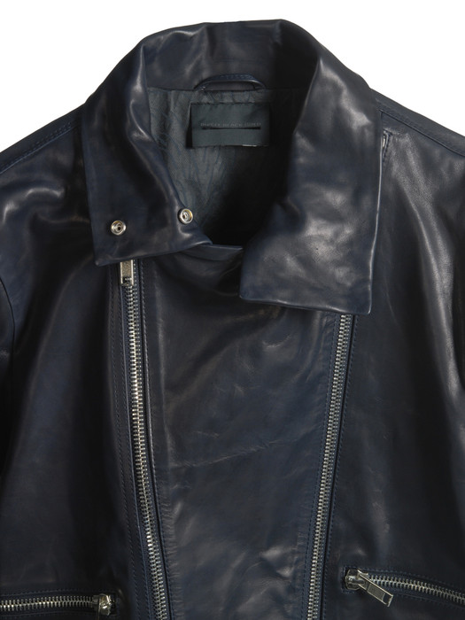 DIESEL BLACK GOLD LIUZIP Leather jackets U d