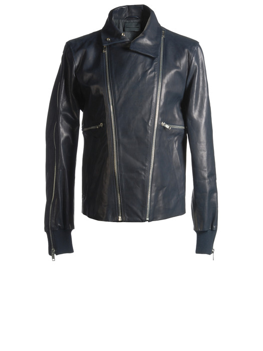 DIESEL BLACK GOLD LIUZIP Leather jackets U f