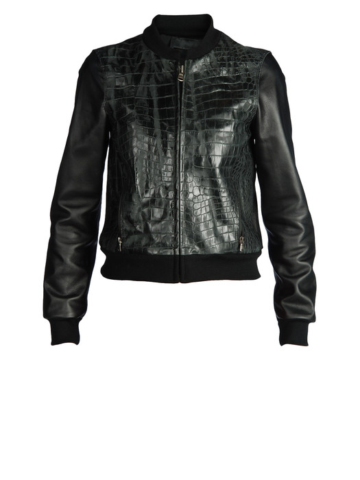 DIESEL BLACK GOLD LOSNALY Leather jackets D f