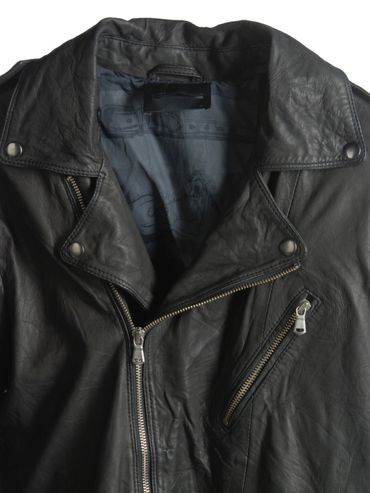 DIESEL BLACK GOLD LERFECTO-ES Leather jackets U d