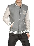 DIESEL LASIOCEREUS Leather jackets U f