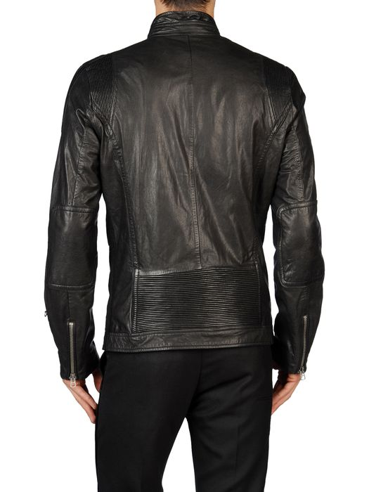DIESEL LOPHOPHORA Leather jackets U r